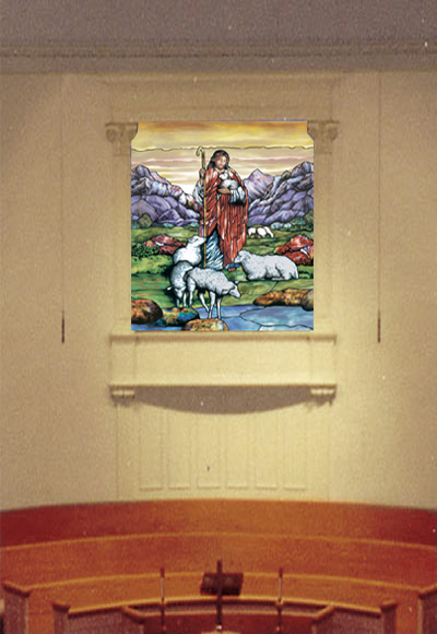 Good Shepherd Mural